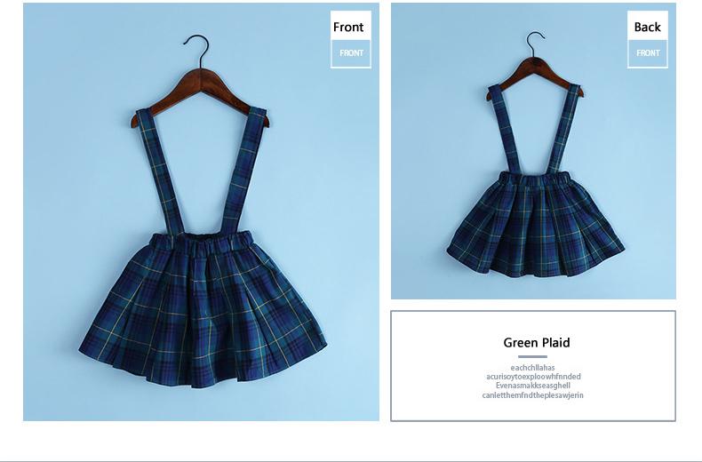 uNpXXXXXkXpXXq6xXFXXXU - 2018 Kids Skirts For Baby Girl Summer Fall Plaid  Skirt Toddler Girl 9dc6e4e25075