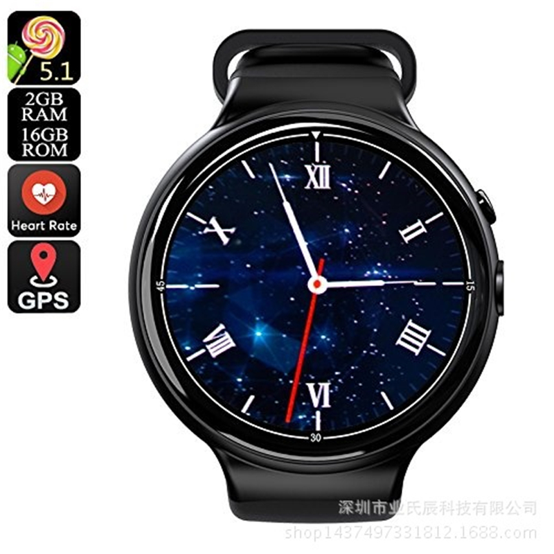 I4 Air 3G SIM Card Smart Watch Phone Ultra Slim GPS Smartwatches for Men and Couples Waterproof IP68 Support Multi Languages