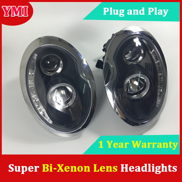 Headlights For Bmw Mini Cooper R53 R52 R50 Headlight For Mini