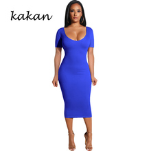 Kakan summer new women's dress stitching open back hollow pleated dress round neck short-sleeved openwork dress open back scallop edge boxed pleated cami dress