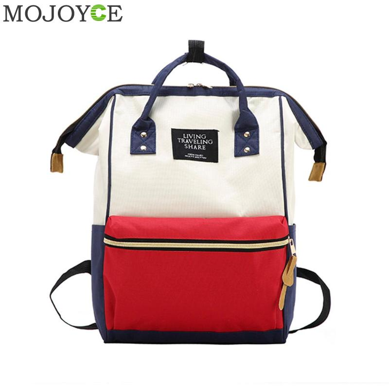 School Backpack Laptop Waterproof Backpack Mummy Maternity Diaper Bag Large  Capacity Nursing Bag Fashionable Travel Backpack