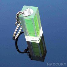 HACCURY-porte-clés niveau carré avec trois couleurs pour cadre Photo mural TV, 1 pièce taille 40x15x15mm