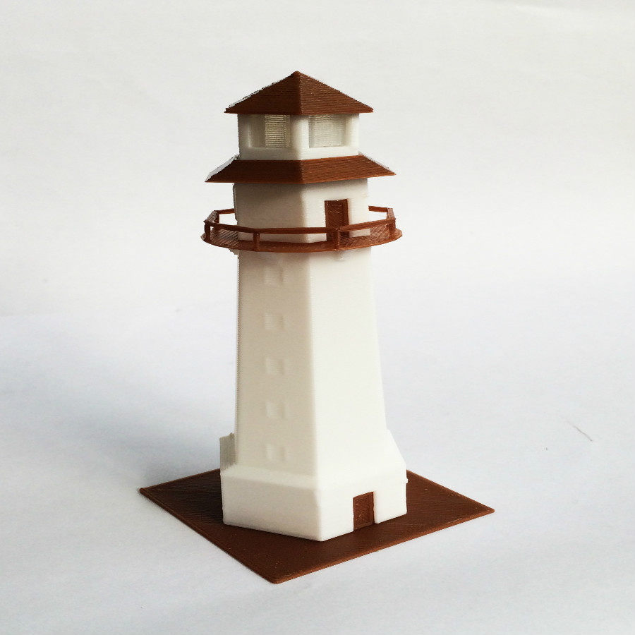 Toys & Hobbies Train Railway Model Scene N Ratio 1:160 Seaside Lighthouse Applicable 1:150 1:144 Aromatic Character And Agreeable Taste
