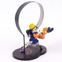 Naruto & Uchiha Sasuke Non Scale Painted Figure Collectible Model Toy