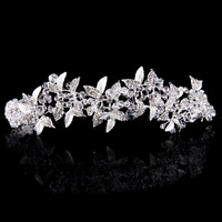 The bride adorn article Handmade beaded crystal beads bead bright hair band Sweet bride accessories wholesale headband