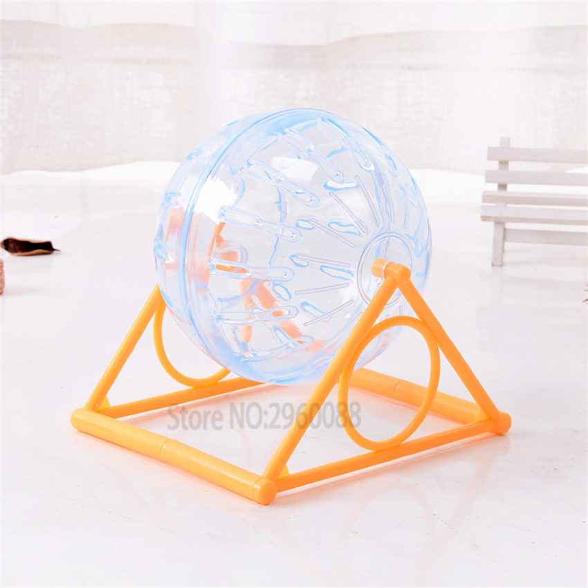 Hamster Running The Ball 14/12cm Small Pet Rat Toy Transparen Hamster Supplies Gerbil  Accessories