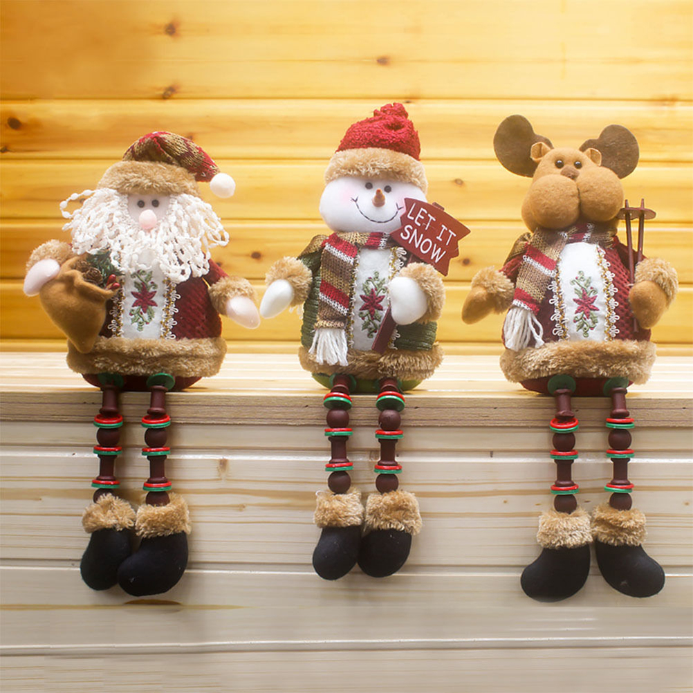 Special Offer Santa Claus Snow Man Reindeer Doll Christmas Decoration Xmas Tree Hanging Ornaments Pendant Best Gift On Sale ...