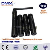 DHL Free Shipping Wireless DMX Receiver Transmitter Rgb Led Controller Dmx Wireless