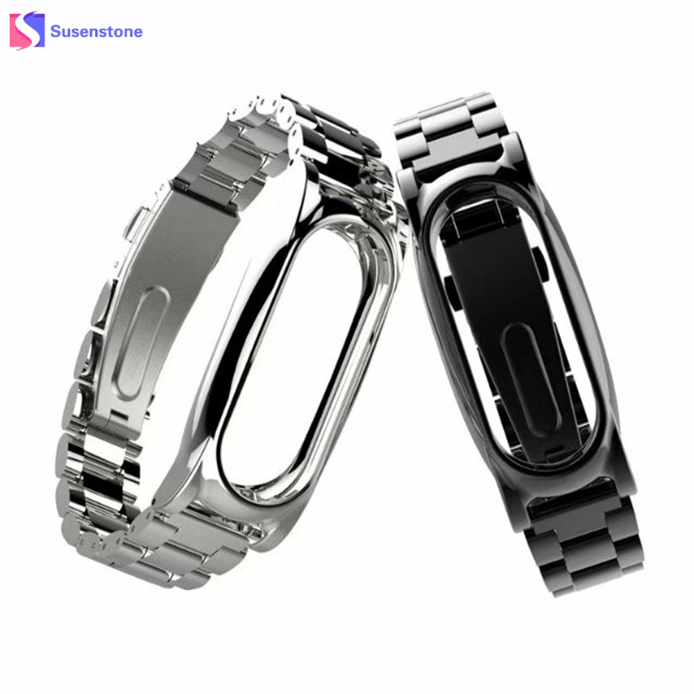 Hot Sale Watchband For Xiaomi Mi Band 2 Magnet Stainless Steel Watch Band Luxury Wrist Strap Metal Wristband 14-21CM watch strap watch band for xiaomi mi band 2 stainless steel luxury wristband metal ultrathin new strap 3 0919