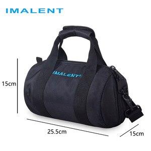 Image 1 - Imalent 2019 מקורי חדש חם Fashional חיצוני שקית מזדמן כתף שקיות עבור MS12/DX80/R90C/R70C פנס accessoriy תיק