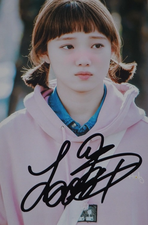 Lee Sungkyoung  Sung kyoung  autographed  signed photo picture 4*6 inches freeshipping 02.2017 adele autographed signed photo picture 4 6 inches collection freeshipping 02 2017