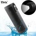 Ubit t2 ipx5 falante bluetooth sem fio à prova d' água levou luz ao ar livre alto-falantes de rádio fm leitor de áudio portátil de apoio tf cartão