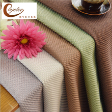 {Byetee} Modern Simple Solid Color Curtains for Living Room Bedroom Blackout Curtain Coffee Luxury Cortinas Fabrics