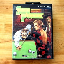 Side Pocket 16 Bit MD Game Card with Retail Box for Sega MegaDrive & Genesis Video Game console system