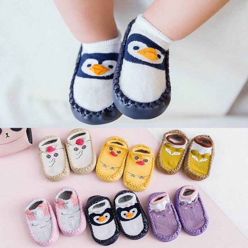 Cute Baby//Boys//Girls Toddler Walker socks New Hot Non-slip 6 pairs Comfortable