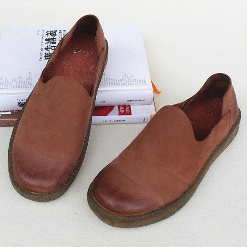 Shoes Woman Flat 100% Authentic Leather Slip on Ladies Flat Shoes 2018 Spring/Autumn Female Footwear (5006-1) woman shoes flat genuine leather slip on ballerina flats ladies flat shoes spring autumn female footwear 1688 3