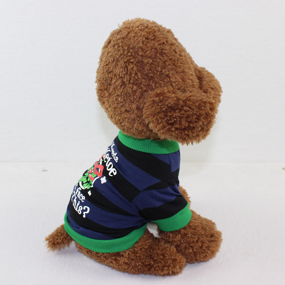 Small Dogs Costume Clothes For Little Dogs Overalls Dog Clothing Cotton T-Shirt Puppy Costume For Small Dog