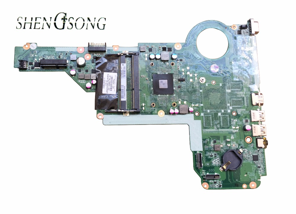 Free Shipping 734004-001 734004-501 for HP Pavilion 14-E 15-E series laptop motherboard DA0R76MB6D0 REV:D A4-5000 734004-001 574680 001 1gb system board fit hp pavilion dv7 3089nr dv7 3000 series notebook pc motherboard 100% working