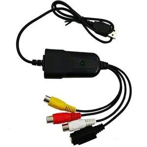Image 1 - Portátil USB 2,0 AV/RCA compuesto y s video Audio Tarjeta de captura de vídeo VHS adaptador DVD