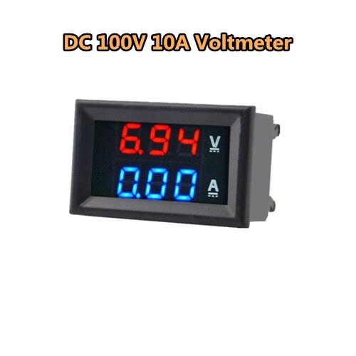 DC 100V 10A Voltmete