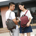 2016 Новый Стиль Моды Унисекс Рюкзак Школьные Сумки Для Подростка 7 Имеющийся Цвет Высокое Качество Холста Frabics Рюкзак