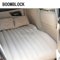 BOOMBLOCK 1set Car Inflatable Car Bed Seat Covers Cushion For Saab Chevrolet Cruze VW Passat B5 B6 B7 Toyota Corolla 2008 RAV4