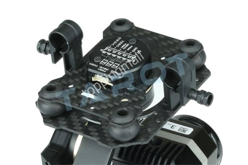 Tarot métal efficace FLIR caméra de cardan d'imagerie thermique 3 axes CNC cardan pour Flir VUE PRO 320 640PRO TL03FLIR 50% OFF - 5