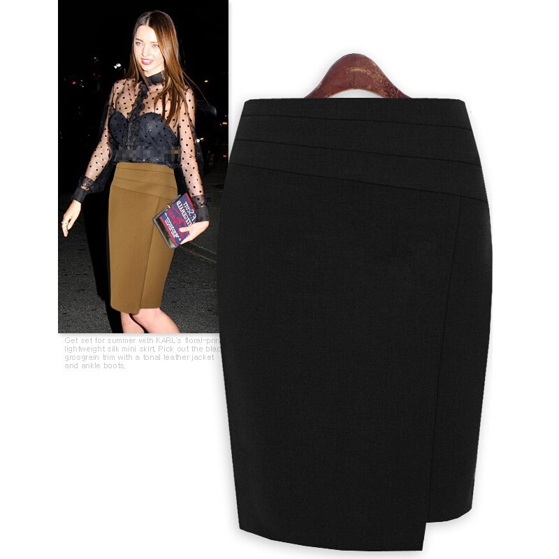 Haute De Femmes Jupe Taille Mode La Plus Noir ardoisé Jupes Laine Nouvelles Crayon D'hiver 1Bnx4Bv