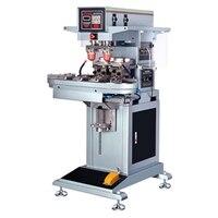 Для пластика, дерева, ручки, sd карты автоматический 2 цвета конвейер печать чернилами Кубка печатная машина