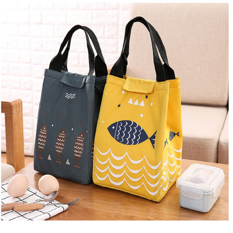Mode Portable Insulation Bags Vattentät Oxford Lunchväska Spädbarn - Hemlagring och organisation