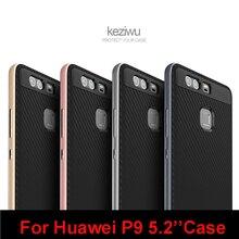 Бренд Vpower Для huawei p9 чехол для телефона p9 полный защитный кожного покрова для huawei ascend p9 жесткий силикагель мягкая случае