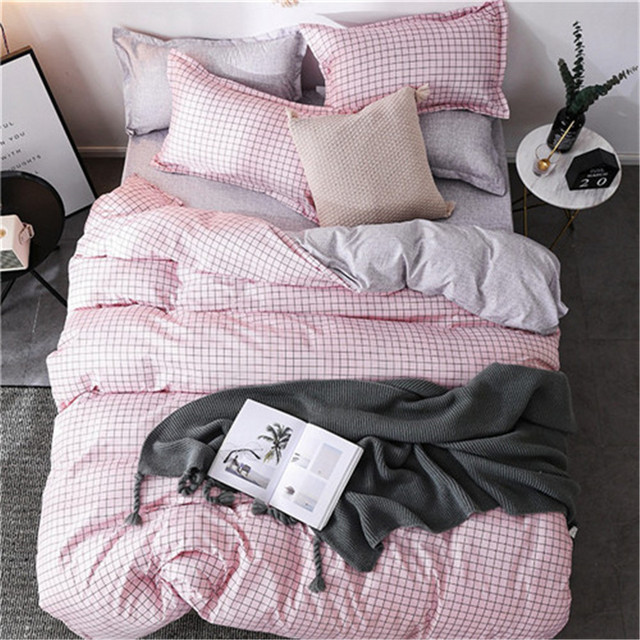 Spring flower bed linen set duvet cover with Pillow Cases Single Double Queen King Sizes soft bedding set new comfortable