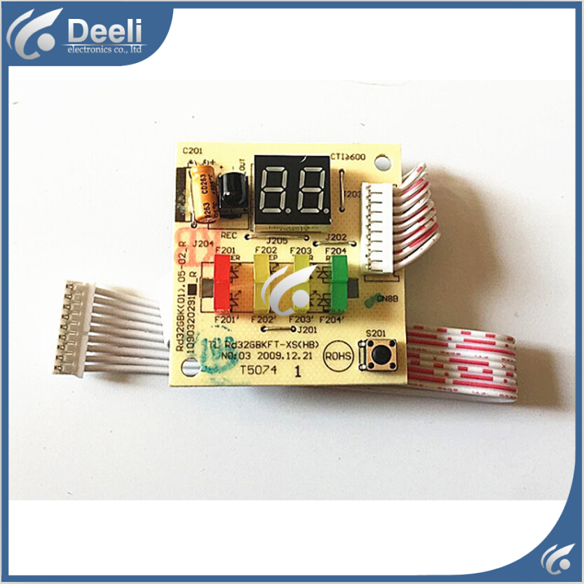 95% new good working for Air conditioning display board remote control receiver board plate Rd32GBKFT-XS(HB 1090320291 a pair 95% new original for buffer plate board th p55gt32c tnpa5340 tnpa5341 good board