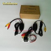 Беспроводной заднего вида Камера для Skoda Yeti 2009 ~ 2013 Беспроводной Реверсивный Камера HD CCD Ночное видение