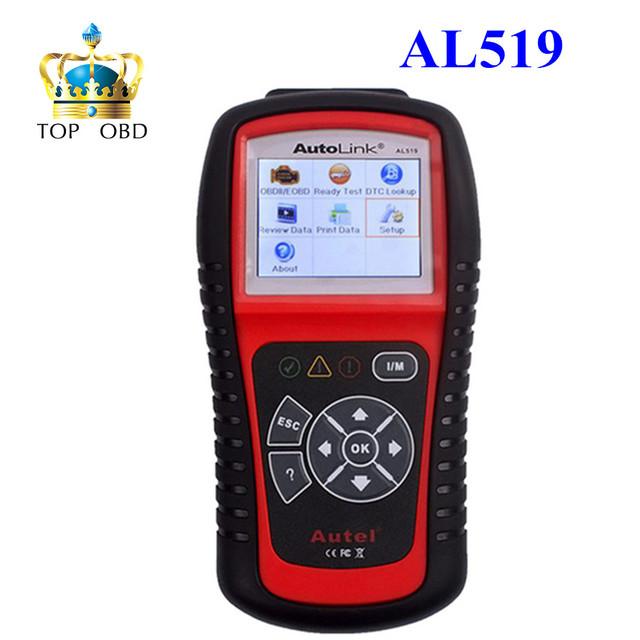 Autel AutoLink AL519 OBDII/EOBD Escáner de Código de Auto con 10 modos pantalla a color TFT de diagnóstico Funciona en TODOS LOS 1996 y más nuevos vehículos