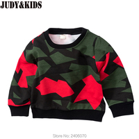 Baby Boy T Shirt Autumn Winter Children Blouse Brand Tops For Girl Camouflage Casual Kids Sweatshirt