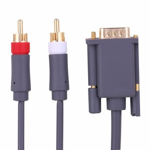 Image 4 - 1.8M HD AV connecteur Audio vidéo câble VGA 2RCA convertisseur câble pour Xbox X   360