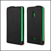 Genuine Flip Leather Case Cover For Nokia XL Magnet Phone Bag Free Shipping