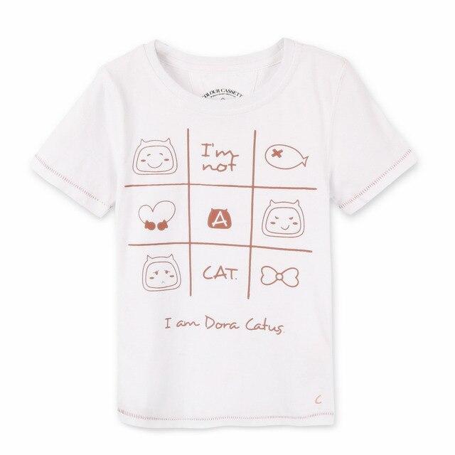 Free Shipping ! Original Designed Premium 100%Cotton Jersey with Cartoon Print Short Sleeve t shirt . Exclusive !