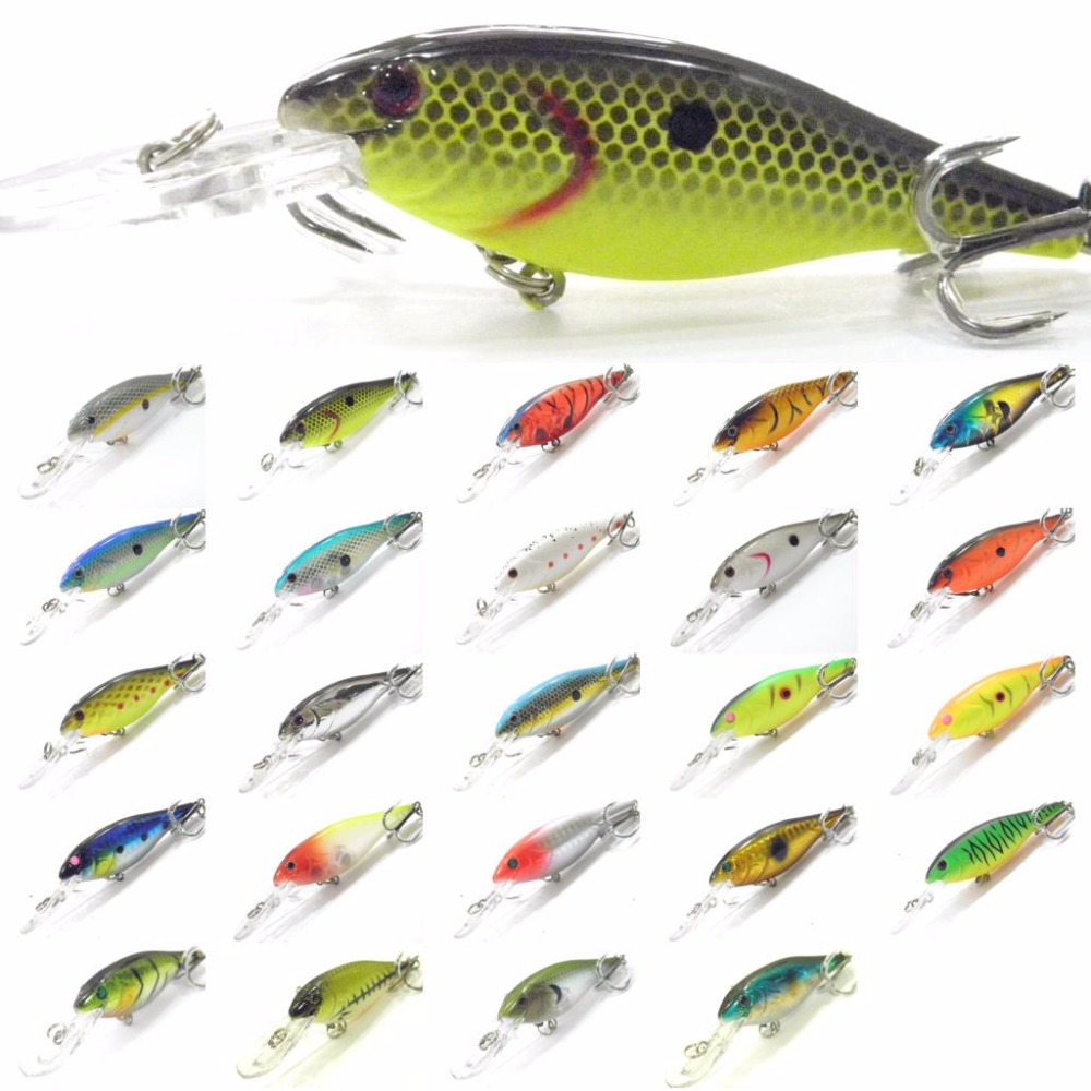 WLure Crankbait Hard Bait Medium Diver