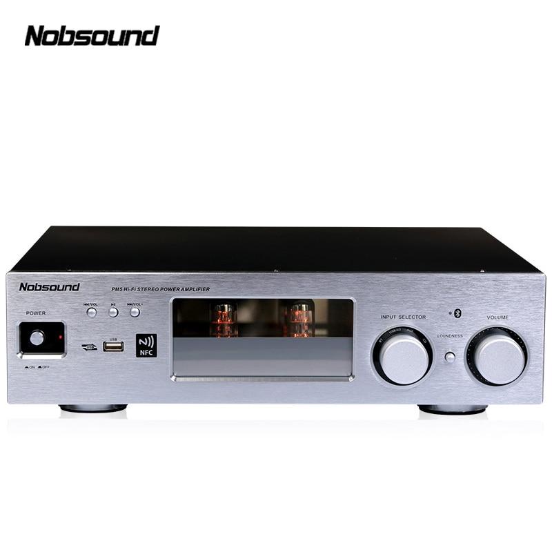 Nobsound PM5 250 w Haut De Gamme HiFi 2.0 Vide Tube Amplificateur stéréo NFC Bluetooth Amplificateur Audio À Domicile USB/FLAC /APE 80 w + 80 w