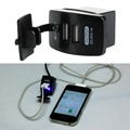 1Pc Dual USB Car Cigarette 12V Lighter Socket Splitter Charger Power Adapter Outlet