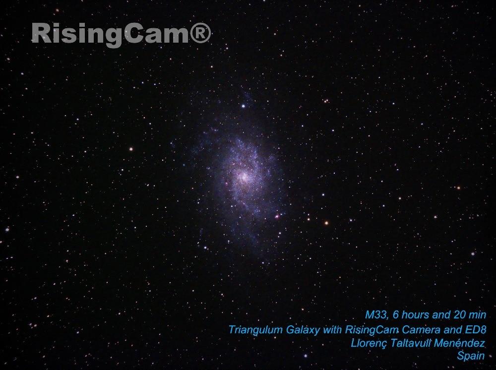 M33 desde son catlar 6horas y 20 min