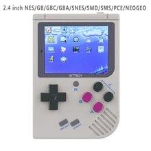 Новый BittBoy NES/GBC/GB Ретро ручной экономии/загрузки видеоигровых консолей V3 Ретро игровой плеер ход MicroSD карты внешний