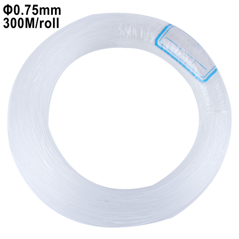 0.75mm 300M/roll PMMA plastic end glow fiber optic cable for all kind led light engine driver ...