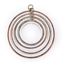 DIY Frame Embroidery Hoop Ring Round Hand Needlecraft Household Sewing Tool Practical Cross Stitch Machine Wooden 12-29cm(China)