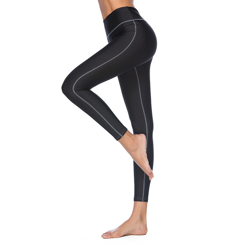 CALOFE Women Yoga Pants Leggings Fitness Slim Breathable Sports Pants Fitness Yoga Running Tights Sport Pants Compression Tights