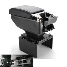 Для Ford Focus mk1 подлокотник Универсальный центральный автомобильный подлокотник для хранения коробка модификации аксессуары