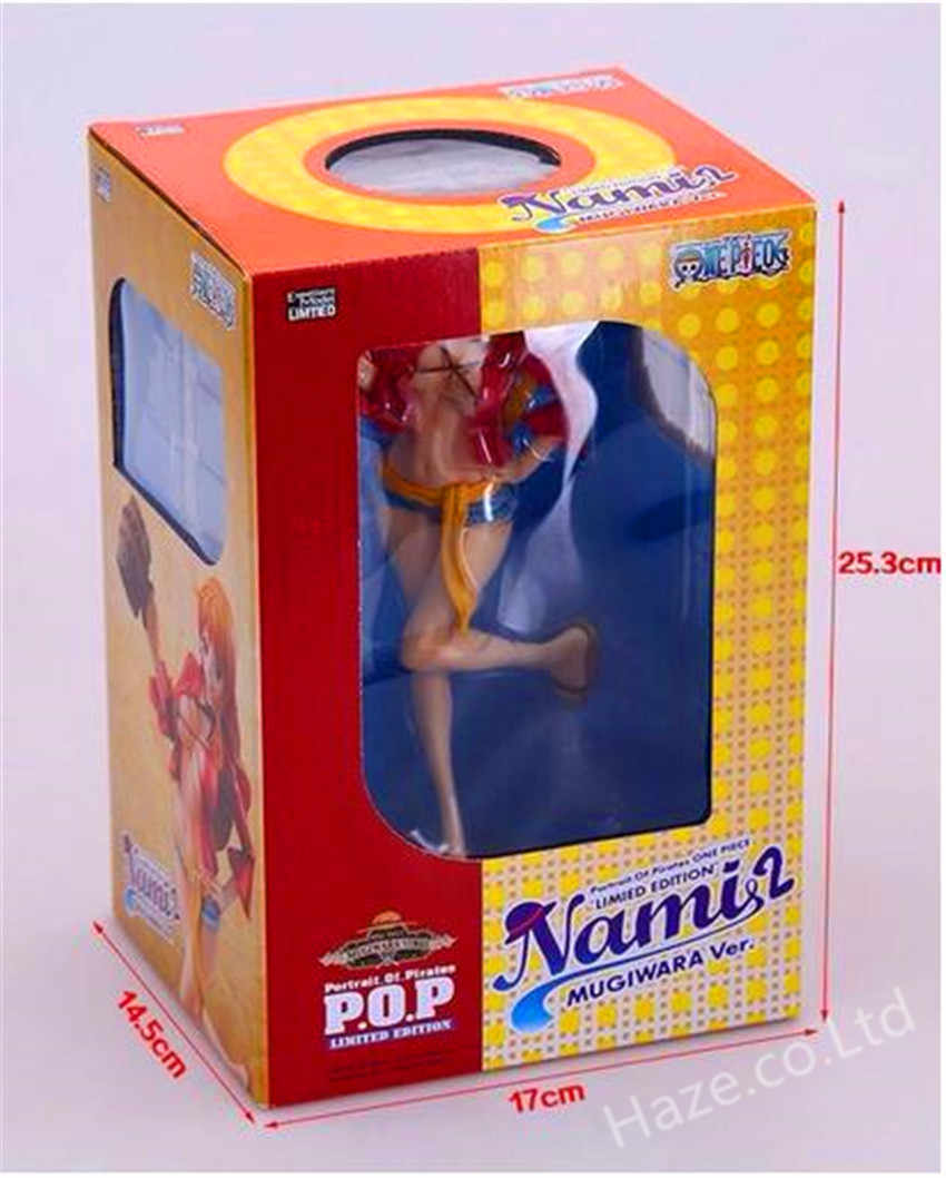 Bandai One Piece Wii Unlimited Cruise EP1 Figura Straw Hat Pirates Nami Sexy