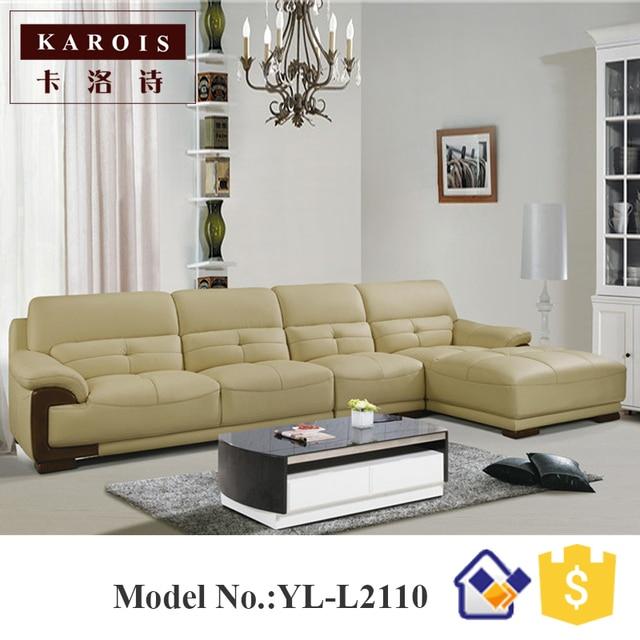 Goedkope europese stijl home banken woonkamer meubels sofa, hoekbank ...